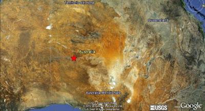 terremoto de 6,1 grados en la escala de Richter se registró hoy en el sur de Australia 23 de Marzo 2012