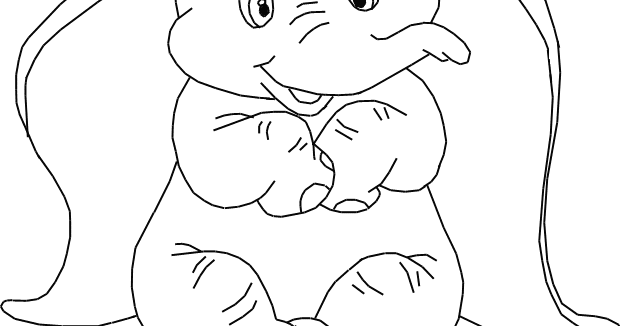 Dumbo Coloring Pages Disney Coloring Pages