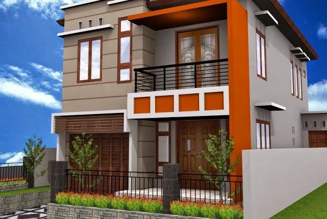 Gambar Rumah Minimalis 2 lantai type 36