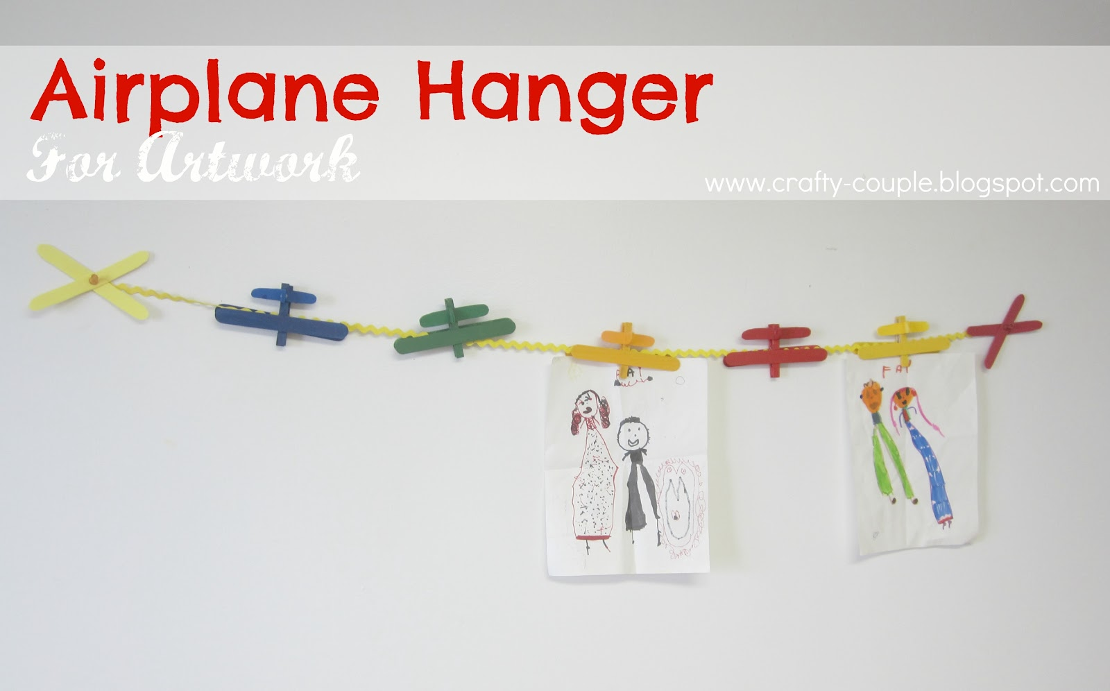 airplane hanger for artwork