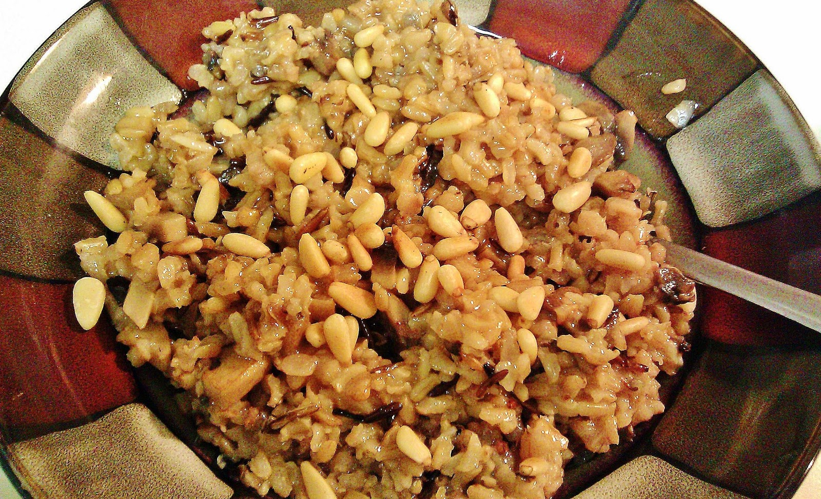 ... rice pilaf with spiced caramelized onions orange cherry pistachio