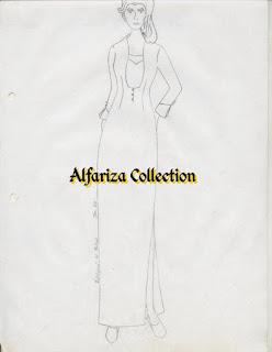 model dress panjang mirip gamis