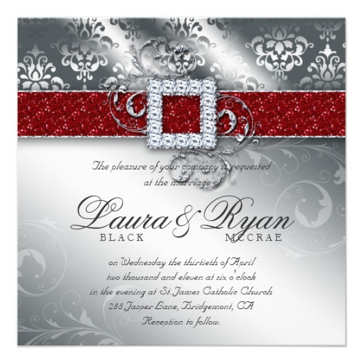 musings of a bride christmas themed wedding invitation cards With images of christmas wedding invitations