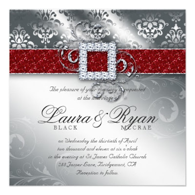 musings of a bride christmas themed wedding invitation cards