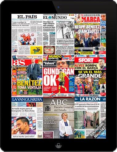 Diarios de España (22 Mayo 2015) (El País - El Mundo - Marca - AS - La Vanguardia - ABC...)