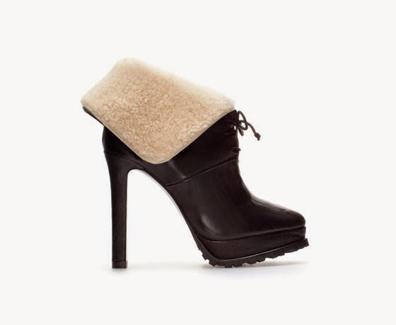 Zara Platform Ankle Boot
