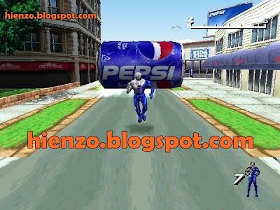 Dikejar Botol Pepsi Gede