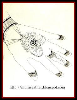 Henna Hands Craft
