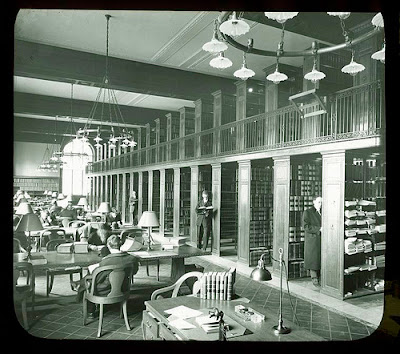 Patents Room, New York Public Library Visual Materials / Lantern Slides / Research Library / Patents,  New York Public Library Archives