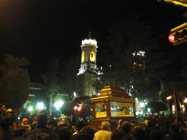 Procesión Semana Santa - viernes 6 , 2012