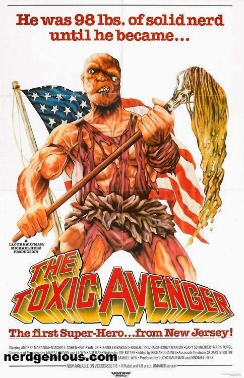 Troma Entertainment Lloyd Kauffman's The Toxic Avenger