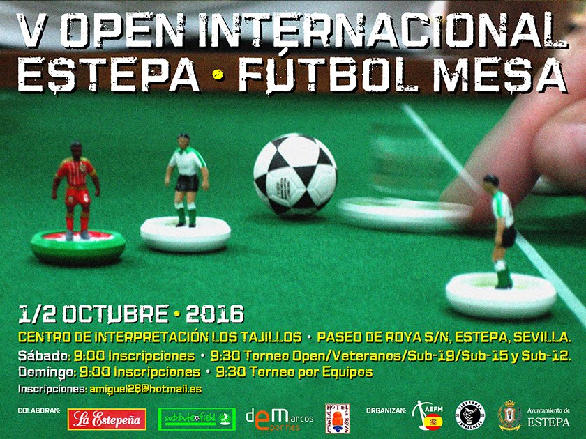 IO ESTEPA (SEVILLA) 1-2 OCTOBER 2016