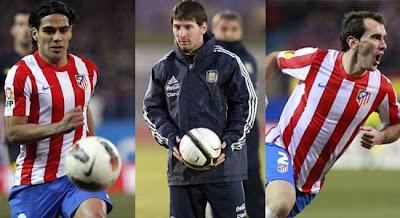 """Godín: """"Falcao y Messi están un escalón arriba de Cristiano"""""""