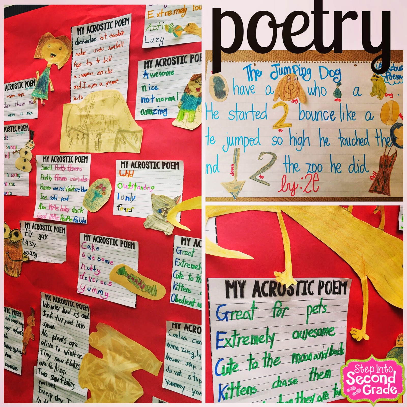 2nd Saturday Poets 2: Step Into 2nd Grade With Mrs. Lemons: Poetry