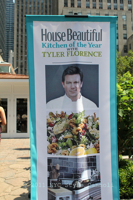 Tyler Florence At The 2011 House Beautiful Kitchen Of The Year