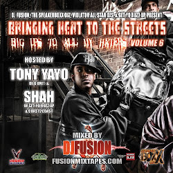 Tony Yayo &amp; Shah Bringing Heat to The Streets Vol 6 Mixed by DJ Fusion