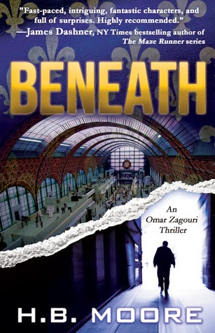 Beneath by H.B. Moore