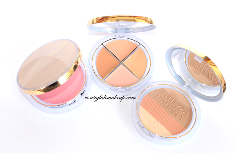 swatches collistar bellezza italiana