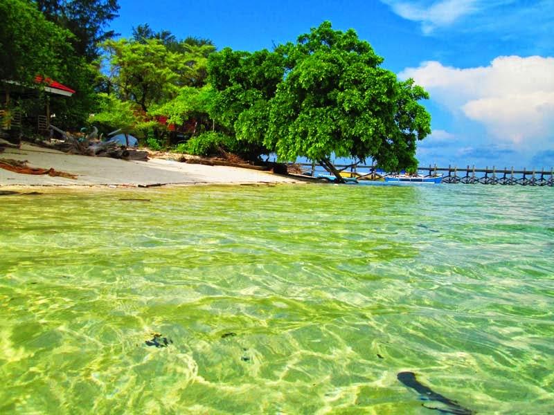 Wisata Pulau Cangke Pangkep