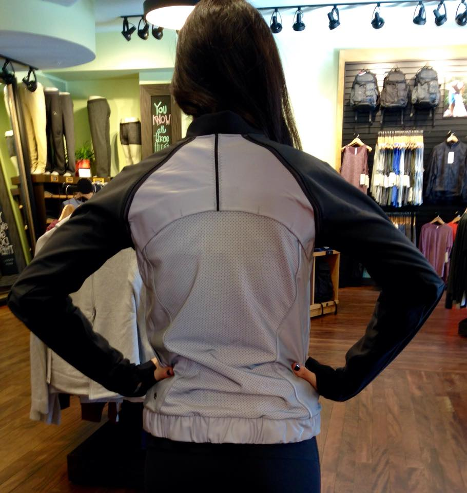 lululemon bright bomber jacket back view