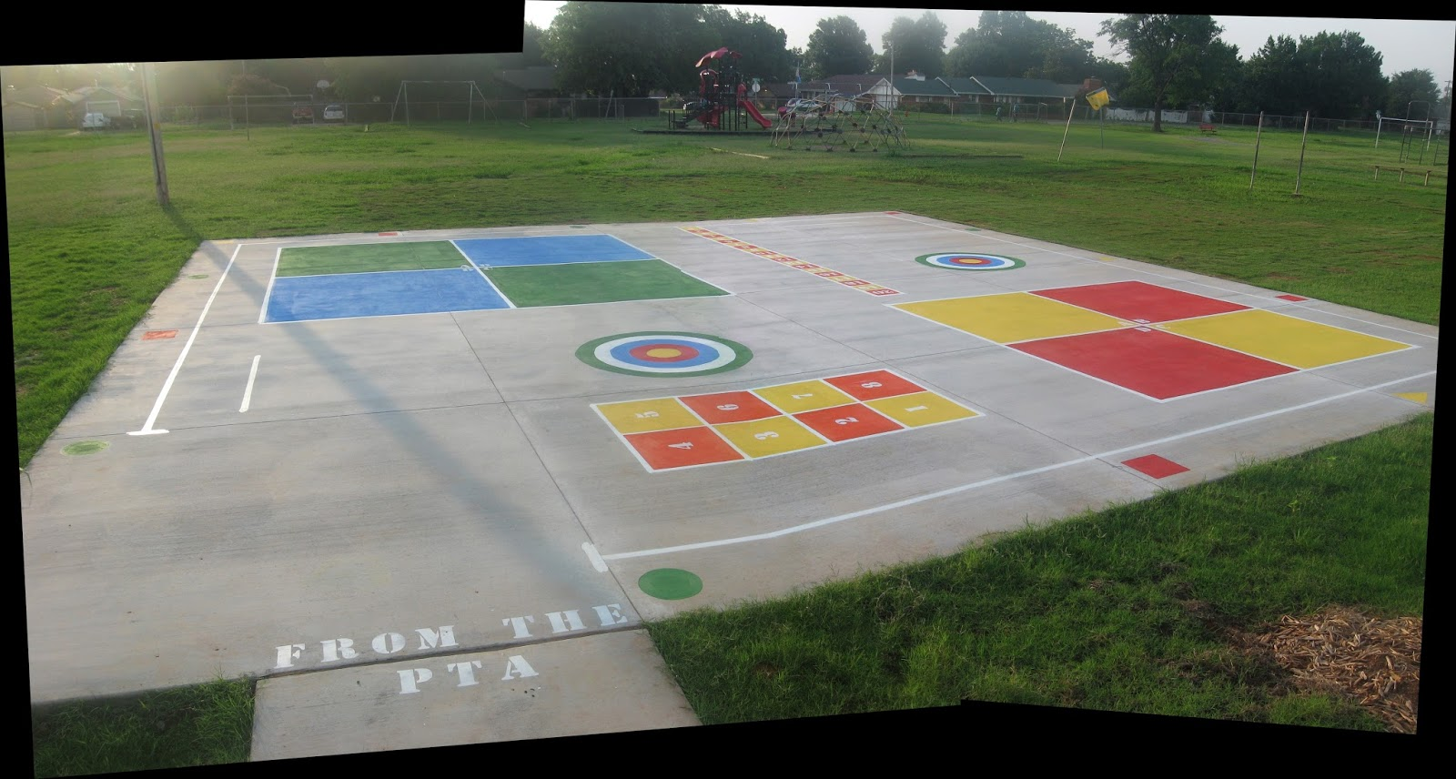 Peaceful Playgrounds Recess Doctor Blog Monroe Elementary - Playground stencils