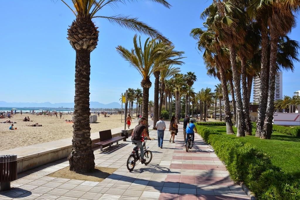 Salou Beach promenade