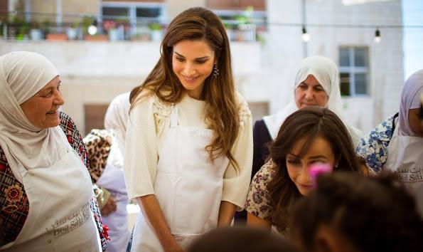 Happy Birthday To Queen Rania Of Jordan