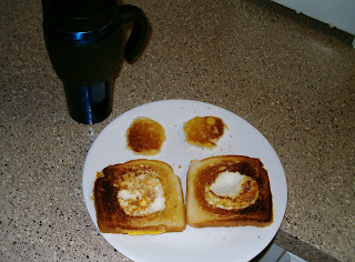Campfire Eggs and Coffee