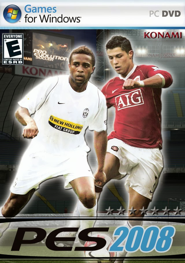 Free Download PES 2008 Full Version For Pc