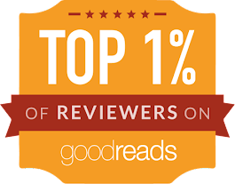 I am in the TOP 1% of reviewers on Goodreads!!!