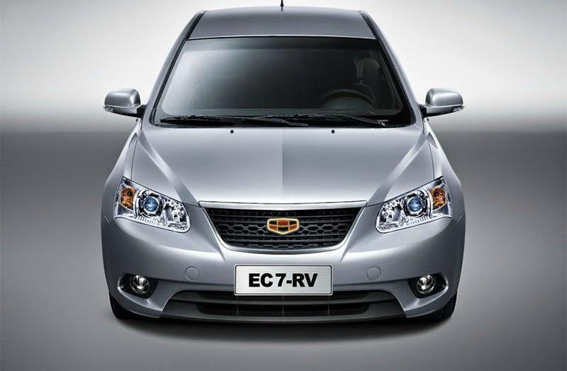 صور سيارة جيلى EC7-RV 2012