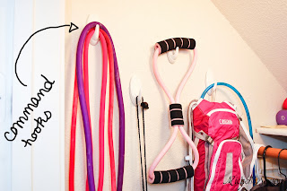 Use Command Hooks to store items on the wall