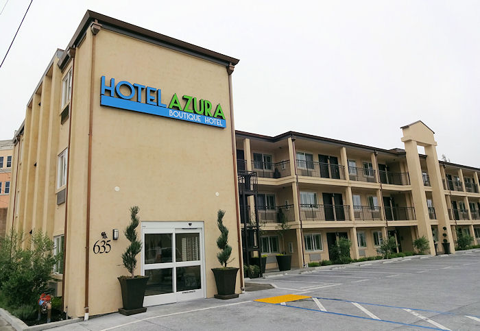 During Our Recent Overnighter In Santa Rosa We Stayed At The Azura Hotel Located On Healdsburg Avenue Near Downtown