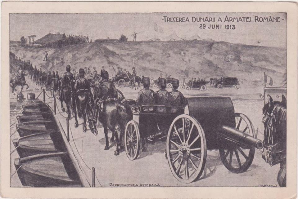 Trecerea Dunarii - Razboiul Balcanic