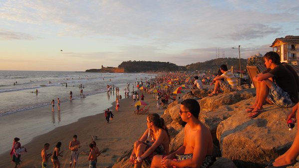 Playa de Montañita