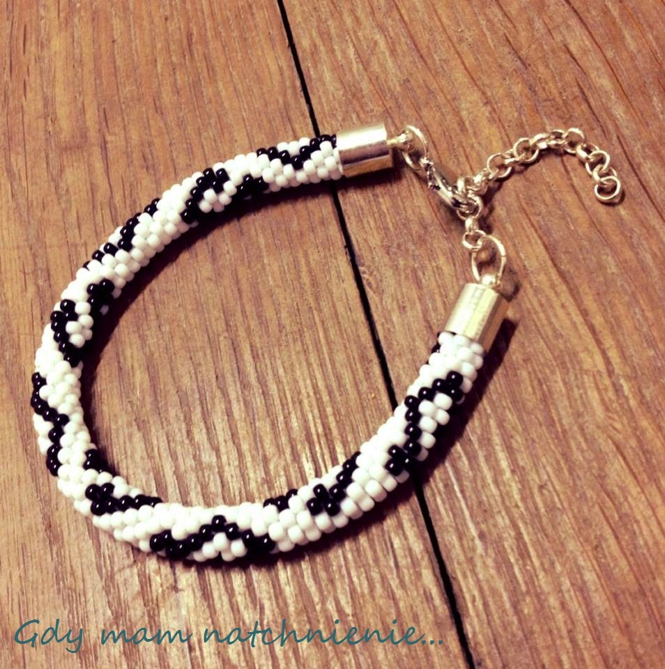 beaded rope bracelet notes