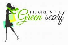 The girl with green scarf