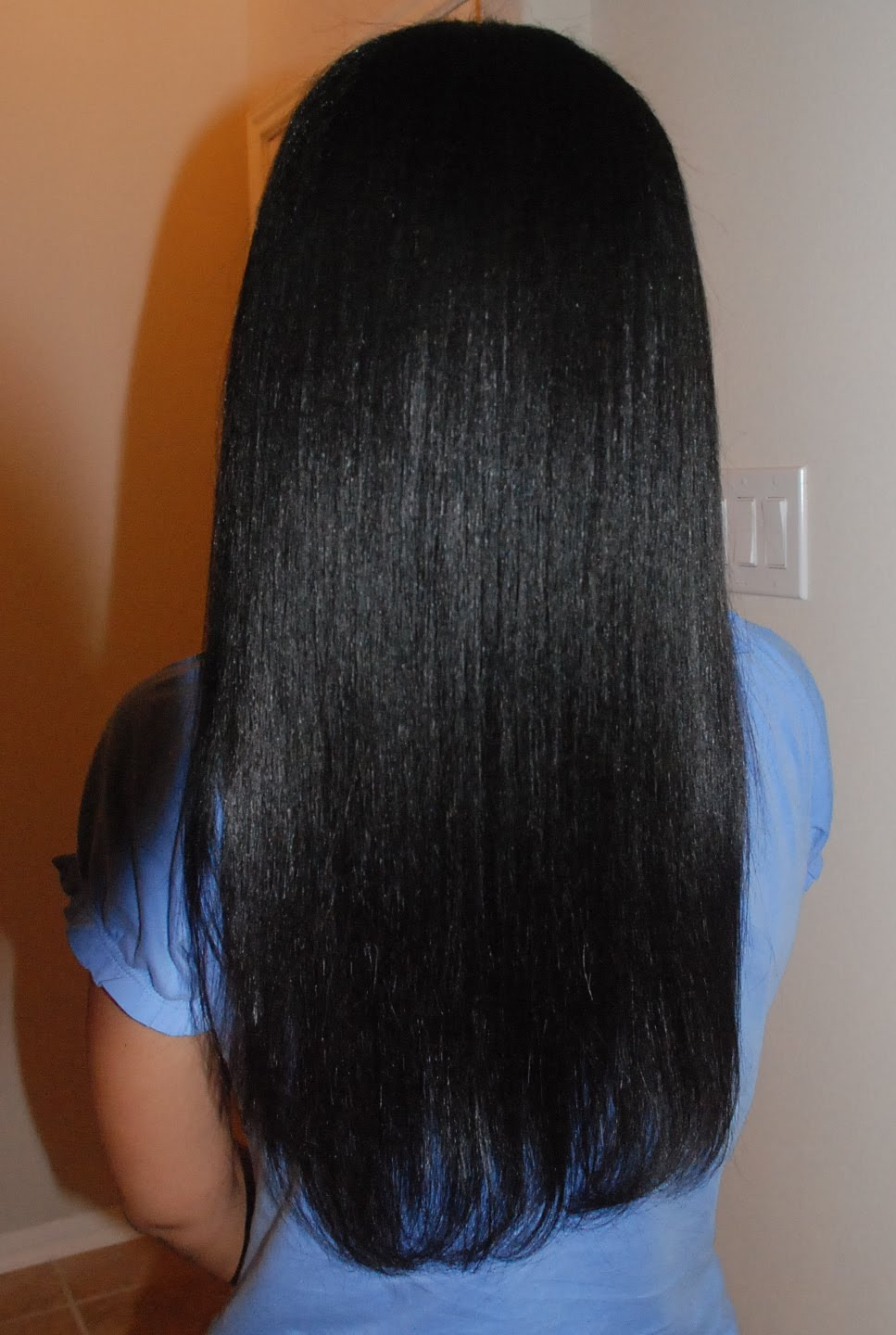 Relaxed African Hair Coarse Straight Hair Relaxed ...