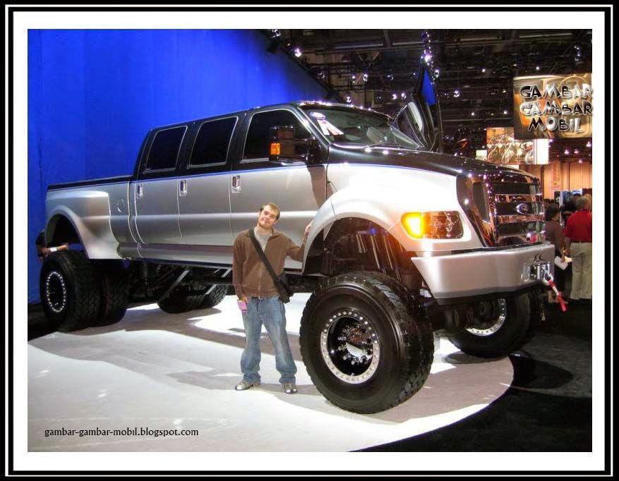foto mobil besar di dunia