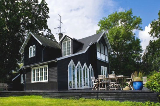 Norway homes designs modern home designs for Modern house design norway