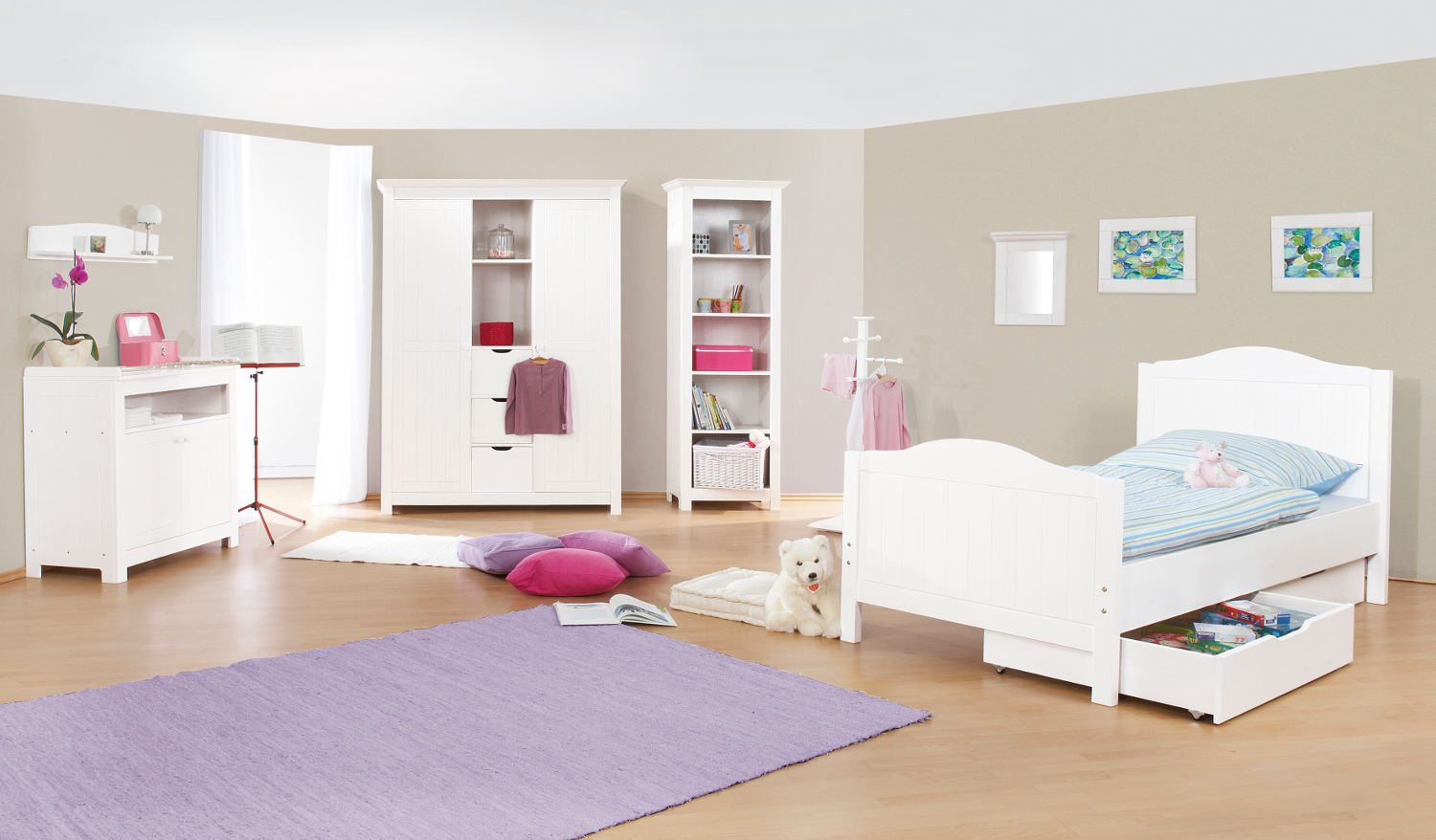 ideas para la habitaci n de los ni os infantil decora. Black Bedroom Furniture Sets. Home Design Ideas
