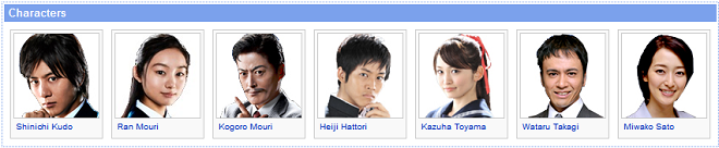 Shinichi Kudo and the Kyoto Shinsengumi Murder Case Character