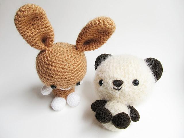 Amigurumi Rabbit Ears : {Amigurumi Bunny and Teddy Bear} - Little Things Blogged
