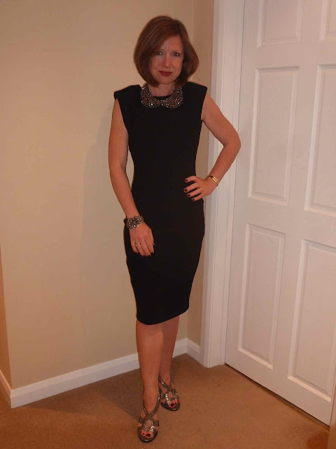 Claire+LBD3 Working Your LBD & Some Fab Neck Candy