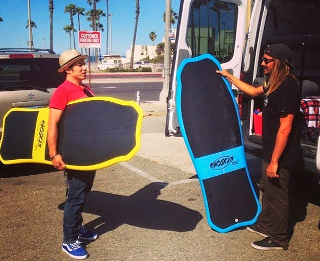 UNIV x Hosoi Hammerhead surfboard with Christian Hosoi from the UNIV Work Shop