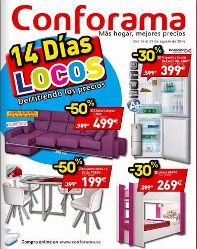 catalogo 14 dias locos conforama 8-14