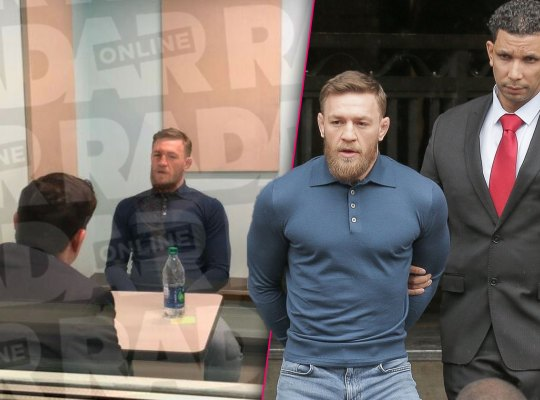 UFC CONOR MCGREGOR ARRESTED