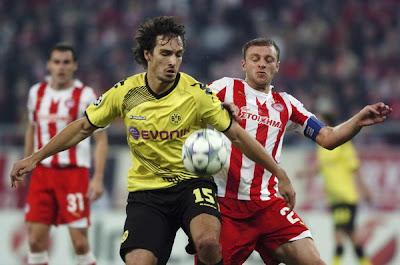 Olympiakos Piraeus 3 - 1 Borussia Dortmund (1)