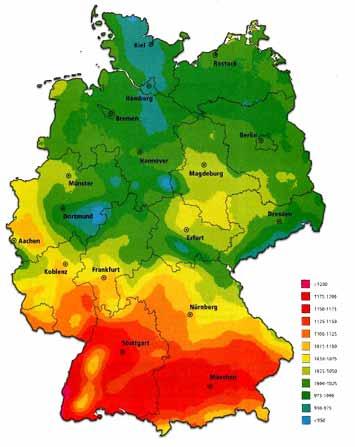 geographische lage deutschland