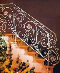 Modern Homes Stair Railing Grill Designs Ideas